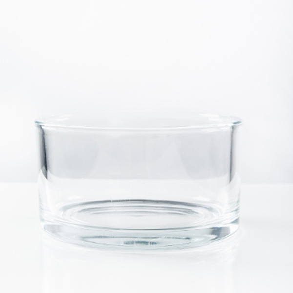 Glasschale_klar_8cm_Höhe_Schwimmkerze_Krumbach