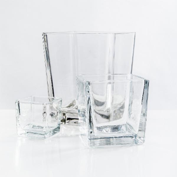 Glaswürfel_Dekowürfel_klar_4_eckig_Augsbug